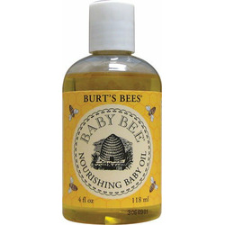 Baby Bee Nourishing Baby Oil - 4 oz. - Liquid