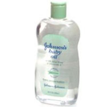 Johnson's Baby Oil with Aloe Vera & Vitamin E, 14 oz