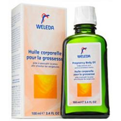 Weleda Pregnancy Body Oil, 3.4 Ounce
