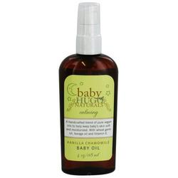 Hugo Naturals, Baby, Vanilla Chamomile Baby Oil, 4 oz (118 ml)