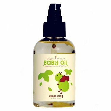 Organic Lavender Baby Oil by Little Twig - 4oz.