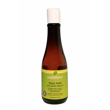 Mambino Organics - Tippy Toes Ultra Gentle Baby Oil (8 oz / 240 ml) *made with certified organic ingredients