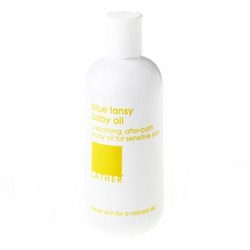 LATHER Blue Tansy Baby Oil, 8.5-Ounce Bottle