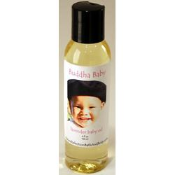 Personalized Buddha Baby Fresh Oil with pink font on label