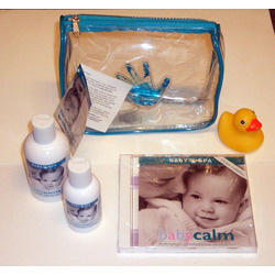 Baby Spa Baby Massage Essentials 4 Piece Kit