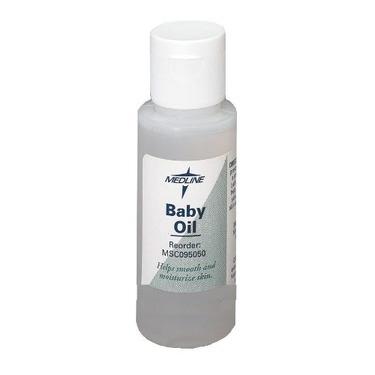 Medline MSC095056 Baby Oil - 16 Oz Bottle - Case Of 12