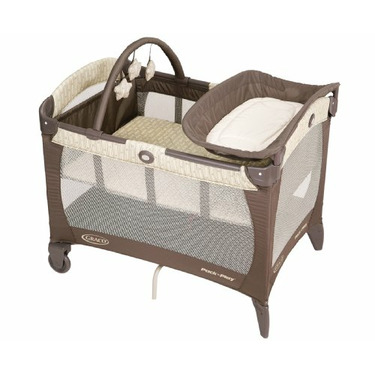 Graco Pack 'n Play Playard With Bassinet, Elephant Parade