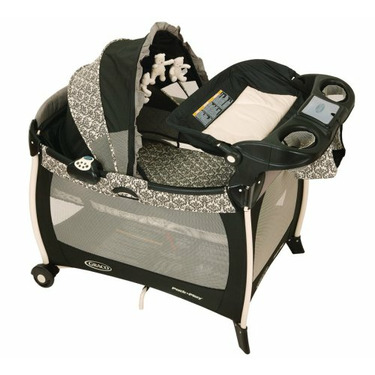 Graco Silhouette Pack 'n Play Playard with Bassinet & Changer, Rittenhouse