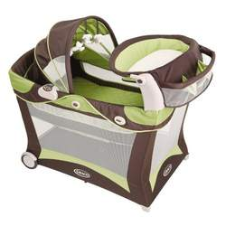 Graco Modern Pack 'n Play Playard with Bassinet & Changer, Zurich