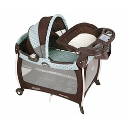 Graco Silhouette Pack 'n Play Playard with Bassinet & Changer, Townsend