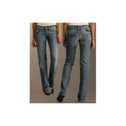 Diesel Jeans (Bebel with Leather Trim)