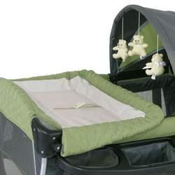 Baby Trend Columbia Play Yard - Green/ Gray