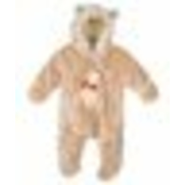 "Winnie the Pooh ""All Ears"" Stroller Suit (Sizes 0M-9M) - khaki, 3-6mos."