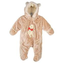 """Winnie the Pooh """"All Ears"""" Stroller Suit (Sizes 0M-9M) - khaki, 3-6mos."""