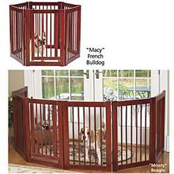 Hardwood Playpen And Gate