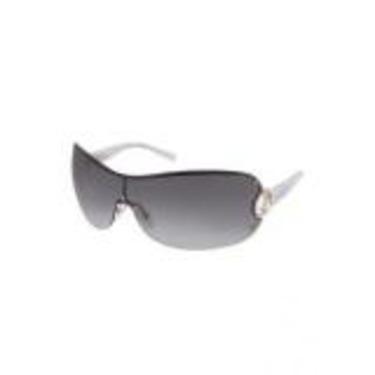 Giorgio Armani Logo Temple Rimless Shield Sunglasses