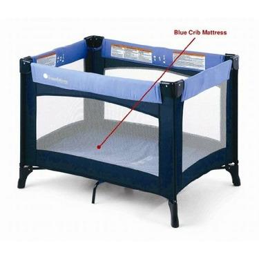 Foundations 50-NM-N1-MT Celebrity Portable Crib Mattress