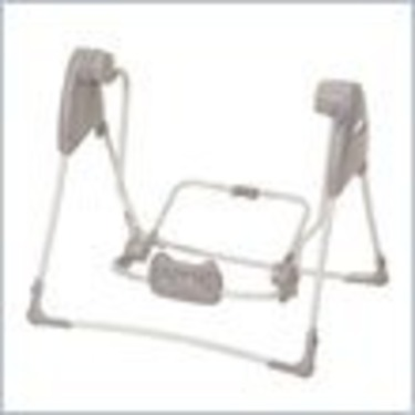 Graco Grey and Silver SnugGlider Swing Frame