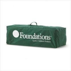 Foundations 51-NM-G1-CB Ultra Portable Crib Carry Bag - Green
