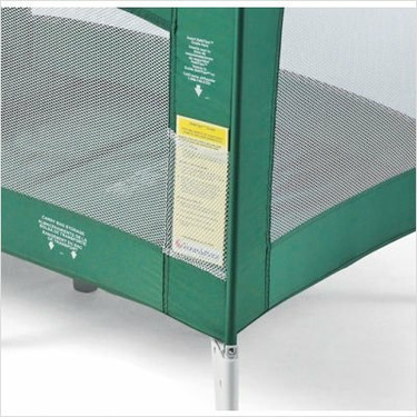Ultra Portable Crib - Green