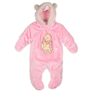 """Winnie the Pooh """"All Ears"""" Stroller Suit (Sizes0M-9M) - pink, 3-6mos."""
