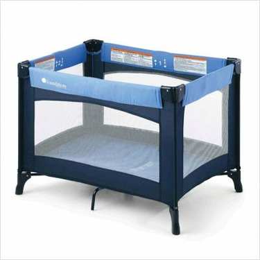 Foundations 50-NM-N1 Celebrity Portable Crib - Blue