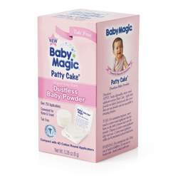 Baby Magic Patty Cake Dustless Baby Powder, 0.28-Ounce