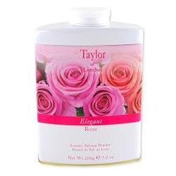 Taylor of London Elegant Rose Talcum Powder 7 oz powder