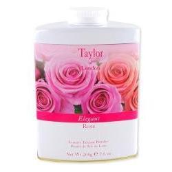 Taylor of London Elegant Rose Talcum Powder 7 oz powder