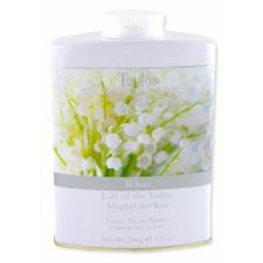 Taylor of London Lily of the Valley Talcum Powder 7 oz powder