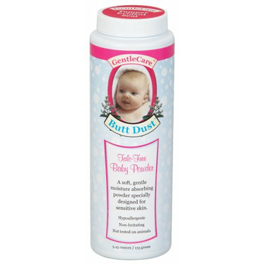 BNG Enterprises - Gentle Care Butt Dust Talc Free Powder, 5.45 oz powder