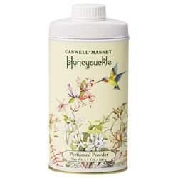 Caswell-Massey Honeysuckle Perfumed Powder 3.5 oz powder