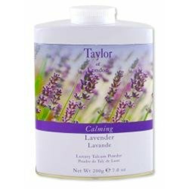 Taylor of London English Lavender Fine Talcum Powder 7 oz powder