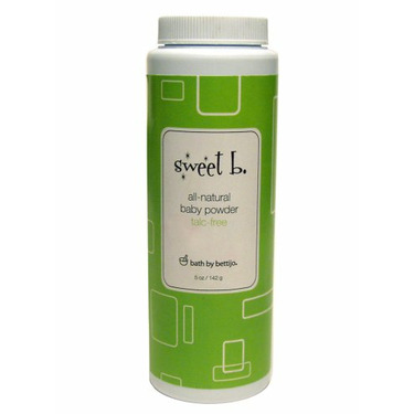 Sweet B. All-Natural Baby Powder, 5.5-Ounce Bottle