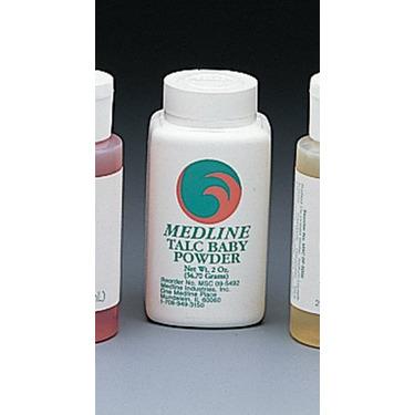 Medline Talc Body Powder - Talc Baby Powder, 4 oz - Model MSC095490H