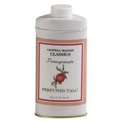 Caswell-Massey Pomegranate Talcum Powder 3.5 oz powder