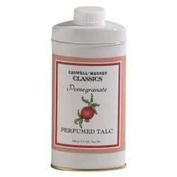 Caswell-Massey Pomegranate Talcum Powder 3.5 oz powder