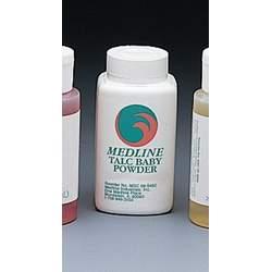 Medline MSC095494 Talc Baby Powder - 14 Oz Container - Case Of 24