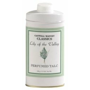Caswell-Massey Lily of the Valley Talc 3.5 oz talc