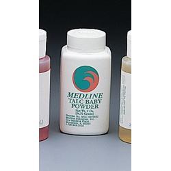 Medline Talc Body Powder - Talc Baby Powder, 2 oz - Qty of 96 - Model MSC095492