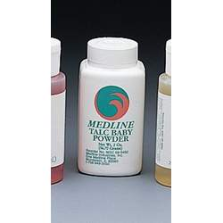 Medline MSC095492 Talc Baby Powder - 2 Oz Container - Case Of 96