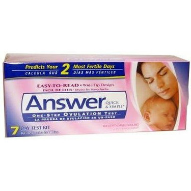 Answer One Step Ovulation 7-Day Test-Kit 1 ea