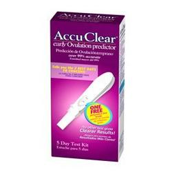 Accu-Clear early Ovulation predictor