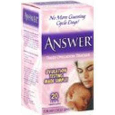 Answer Daily Ovulation Tracker, 20 count (Pack of 1)