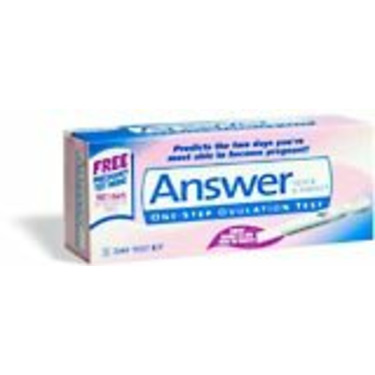 Answer One-Step Ovulation Test - Kit