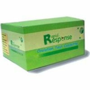 Rapid Response LH Urine Ovulation Test Cassettes, 50/bx