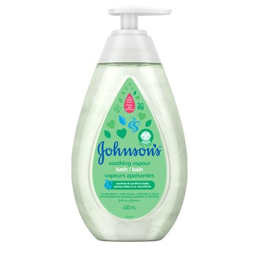 Johnson's® Soothing Vapour Bath