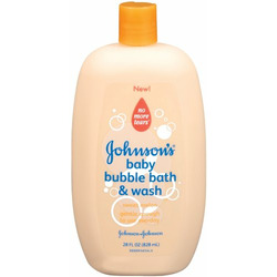 Johnson's Baby Bubble Bath & Wash in Sweet Melon