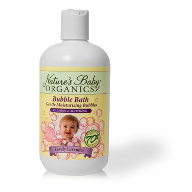 Nature's Baby Organics Bubble Bath, Lovely Lavender, 12-Ounce Bottles (Pack of 2)