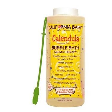 California Baby Calendula Aromatherapy Bubble Bath